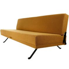 Johannes Spalt 'Constanze' Convertible Daybed Sofa by Wittmann, Austria, 1970 Antique Furniture, Modern Furniture, Furniture Design, Sofa, Couch, Witt, Johannes, New Museum, Daybed