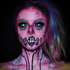 "⠀⠀KIMBERLEYWEBERMAKEUPARTIST on Instagram: ""October 6th: Messy little pop art…"
