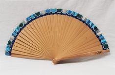 Small Fan, Hand Fan, Bulgaria, 2000s, Painting, Drawing, Ideas, Painted Fan, Hand Fans