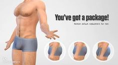 This was long overdue. I finally got around to uploading it. Bulges, for your male sims. It's a default replacement mesh of the BG underwear but any CC underwear that uses this mesh will also be affected. Choose only one package. ha Download - OneDrive
