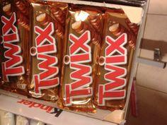 het merk twix (schreefloos, bovenkast, romein)