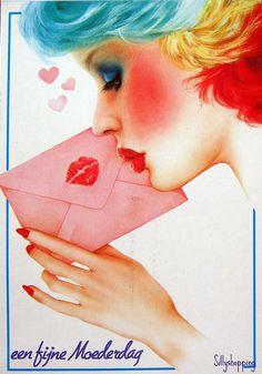 j'embrassais les lettres que j'envoyais à mon amoureux qui était au service militaire