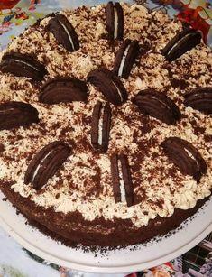 Είναι η τούρτα που πρέπει οπωσδήποτε να την φτιάξεις Kai, Chocolate Sweets, Tiramisu, Food And Drink, Cooking Recipes, Birthday Cake, Breakfast, Ethnic Recipes, Desserts