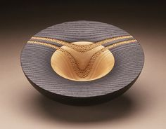Hemispherical Bowl #7 | LACMA Collections  Hayley Smith, 1995. Ash.