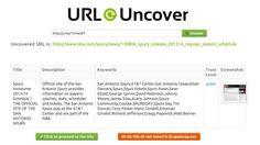 Url uncover scans shortened links for safer browsing shortened