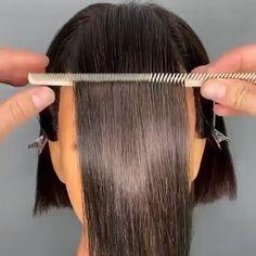Hair Cutting Videos, Hair Cutting Techniques, Hair Videos, Front Hair Styles, Medium Hair Styles, Natural Hair Styles, Cheap Human Hair, Human Hair Lace Wigs, Haircuts For Fine Hair