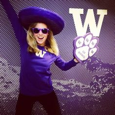 Pumped up for Purple Friday! Go Dawgs!