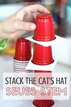 28 Awesome STEM Challenges for the Elementary Classroom - Stack the Cats Hat - Teach Junkie