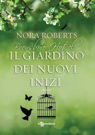 """""""Il giardino dei nuovi inizi"""" è il romanzo che apre la trilogia di Nora Roberts e un nuovo inizio è  ciò che lega tutti i protagonisti di questo libro.  Nuovo inizio per Claire che, rimasta vedova e tornata in città con i suoi tre figli, decide di provare ad  aprirsi all'amore; nuovo inizio per la sua amica Hope che, trasferitasi nella piccola Boonsboro dopo una relazione finita male, accetta il posto di direttrice del Boonsboro Inn..    http://www.gliamantideilibri.it/archives/14876"""