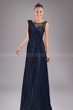 Holy Asymmetrical Military Ball Dress with Beaded Lace