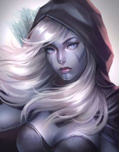Drow Ranger by bearbrickjia                                                                                                                                                                                 More