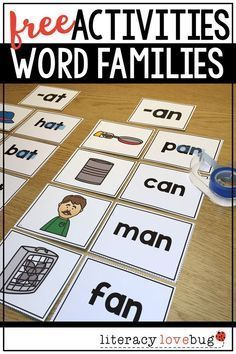 Need word families a