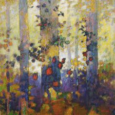 """Forest Rhapsody   oil on canvas   48 x 48""""   2009website"""