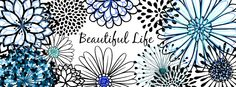 *FACEBOOK COVER PHOTO* (Just copy, save, and set as your Facebook cover) Beautiful life quote with flowers