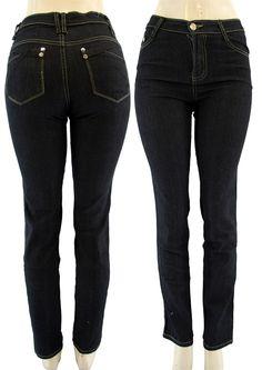 Black Jean Capri Pants
