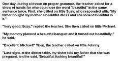 Little Johnny Jokes Dirty | Little Johnny Joke 1. Lol, dirty kid.. One day, during a lesson on ...