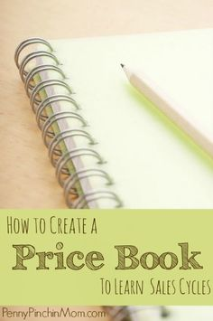 One easy way to keep track of the prices at the stores where you shop is with a price book.  You jot down the prices every week after you shop and you will start to learn those sales cycles at your favorite stores - and know where you usually get the best deals!!