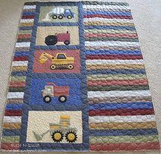 Piece N Quilt: Randomness @ Piece N Quilt #quilt #machinequilting #boy