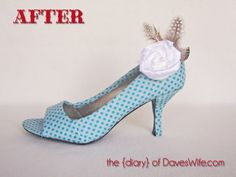 Shoe {Makeovers} Part I | The Diary Of DavesWife