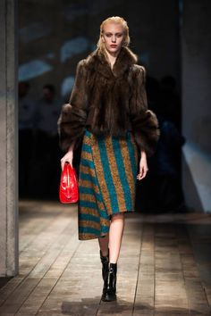 Prada Fall 2013 #runway #fashionweek