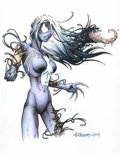 Lady Venom by ~LostEmerald on deviantART