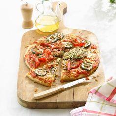 Gegrilde groentepizza Productfoto ID Shot 560x560