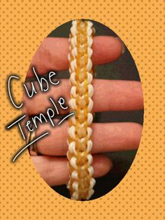 """New renamed """"Cube Temple """" Monster Tail Bracelet/How To Tutorial"""