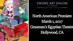 Sword Art Online Ordinal Scale Film Gets N. American Premiere in Hollywood on March 1 Before Wider Screenings