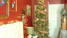 Rustic Christmas Winter Wonderland Bedroom