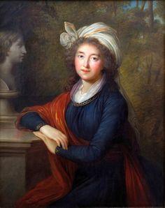 Louise Elisabeth Vigée Le Brun - Ritratto di Izabela Lubomirska