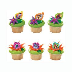 Rio 2 Cupcake Toppers 12 by sofiabakerysupply on Etsy, $3.99