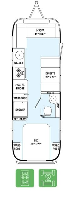 Floor Plans - International Serenity 28