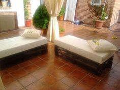 sofas con palets | Hacer bricolaje es facilisimo.com