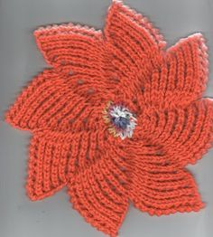 Free+Knitting+Pattern+-+Dishcloths++Washcloths+:+Zinnia+Dishcloth