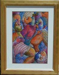 Mmakgabo Helen Sebidi Fine Art, Artwork, Painting, Work Of Art, Auguste Rodin Artwork, Painting Art, Artworks, Paintings, Visual Arts