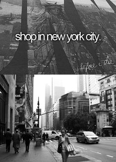 Bucket List: Shop in New York City