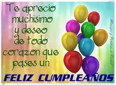 Mensajes y Palabras de Verdad: Feliz cumpleaños. Imagenes para regalar en ese dia especial.