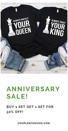 Funny Couple Shirts, Couple Tees, Couple Tshirts, Matching Couple Outfits, Matching Couples, Couple Shirt Design, Vinyl Shirts, Looks Style, Family Outfits