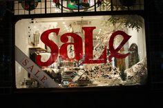 Anthropologie Christmas windows at Kings road, London visual merchandising