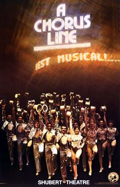 A Chorus Line was my second show ever; at the Paramount again. Seeing this show as a high schooler makes you feel like a grown up. Broadway Posters, Musical Theatre Broadway, Broadway Nyc, Broadway Plays, Broadway Shows, Movie Posters, Dorm Posters, Theatre Posters, Shubert Theater