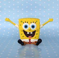 Cakeroom.pl - Gumpaste Spongebob tutorial
