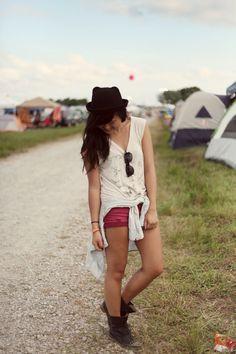 JennifHsieh | #Bonnaroo #Festival #Style #ootd