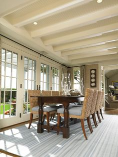 Dining Room 2 - traditional - dining room - boston - Woodmeister Master Builders
