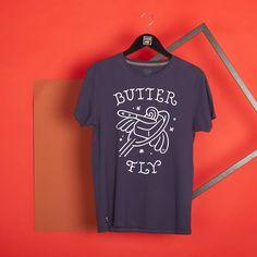 """""""Butter Fly"""", T-Shirt Stepart par Steven Burke."""
