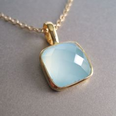 Oh, the color <3<3 Gold Vermeil Pendant Necklace