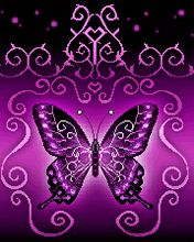 NATURE,FLOWER,PADNE,BUTTERFLY,ANIMATED