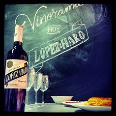 Hacienda Lopez de Haro (Spain - Rioja - 100% Tempranillo) wine tasting
