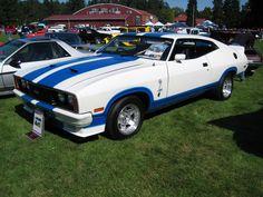1978 XC Falcon Cobra - Greatest car ever! Australian Muscle Cars, Aussie Muscle Cars, Old Muscle Cars, My Dream Car, Dream Cars, Vintage Mustang, Ford Torino, Ford Falcon, Pony Car