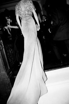 CAROLINE TRENTINI IN A CUSTOM MADE THEYSKENS' THEORY GOWN, MET GALA 2012