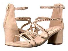 Callisto of California Sassa (Beige Suede) Women's Shoes